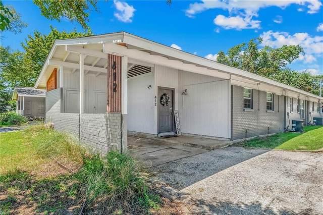 410,412,414 Gilbert Street, Bryan, TX 77801 (MLS #21011083) :: The Lester Group