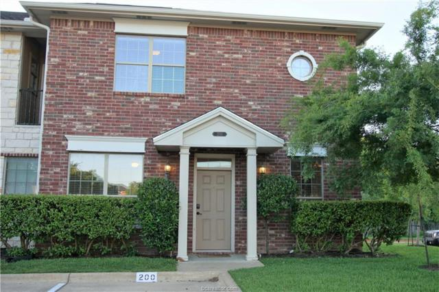 200 Forest Drive, College Station, TX 77840 (MLS #19006902) :: The Lester Group