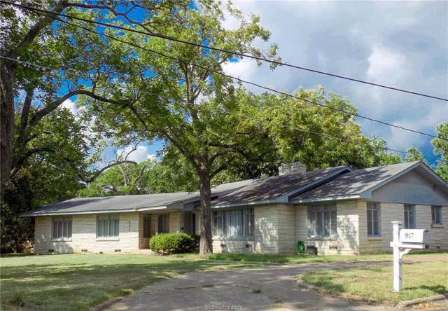 817 Church Street, Navasota, TX 77868 (MLS #19012558) :: Treehouse Real Estate