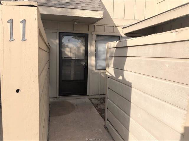 4401 Carter Creek #11, Bryan, TX 77802 (MLS #19015203) :: Chapman Properties Group