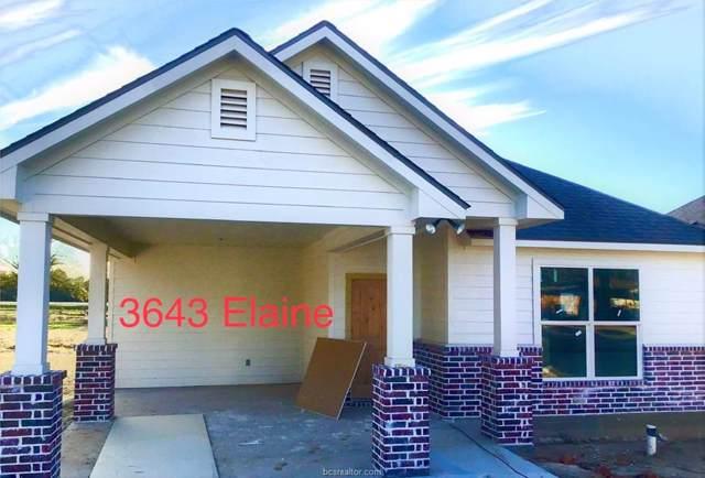 3643 Elaine Drive, Bryan, TX 77808 (MLS #19015383) :: RE/MAX 20/20