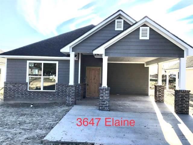 3647 Elaine Drive, Bryan, TX 77808 (MLS #19015385) :: BCS Dream Homes