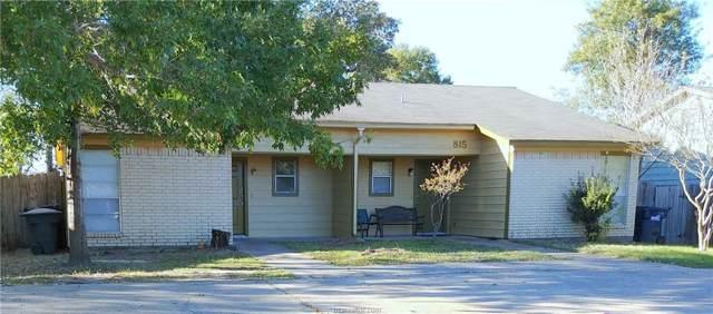 813 San Benito Drive, College Station, TX 77845 (MLS #20001059) :: RE/MAX 20/20