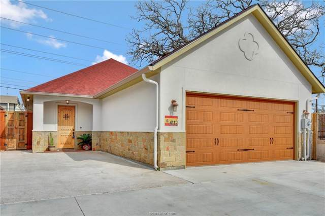 4112 S Texas, Bryan, TX 77802 (MLS #20001156) :: RE/MAX 20/20