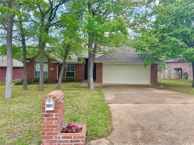 1809 White Stone Drive, Bryan, TX 77807 (#21004851) :: First Texas Brokerage Company