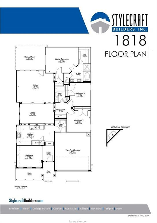 4029 Dunlap Loop, College Station, TX 77845 (MLS #18009242) :: Treehouse Real Estate