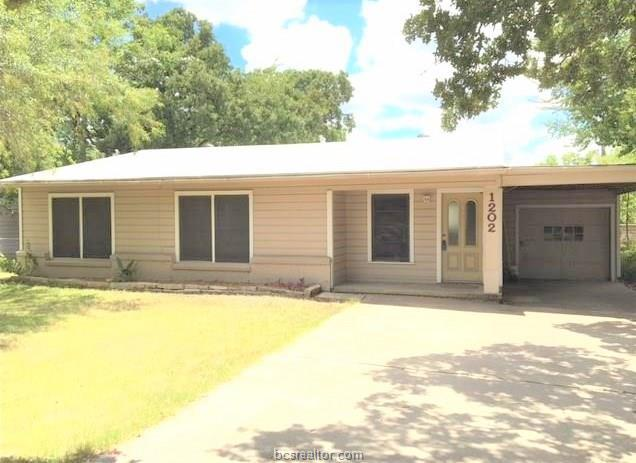 1202 Munson, College Station, TX 77840 (MLS #18016945) :: Chapman Properties Group