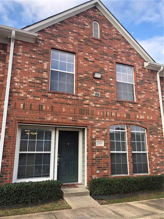 1001 Krenek Tap Road #2604, College Station, TX 77840 (MLS #19018883) :: RE/MAX 20/20