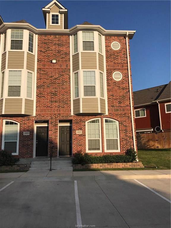 1198 Jones Butler Road #2405, College Station, TX 77840 (MLS #19019011) :: The Lester Group