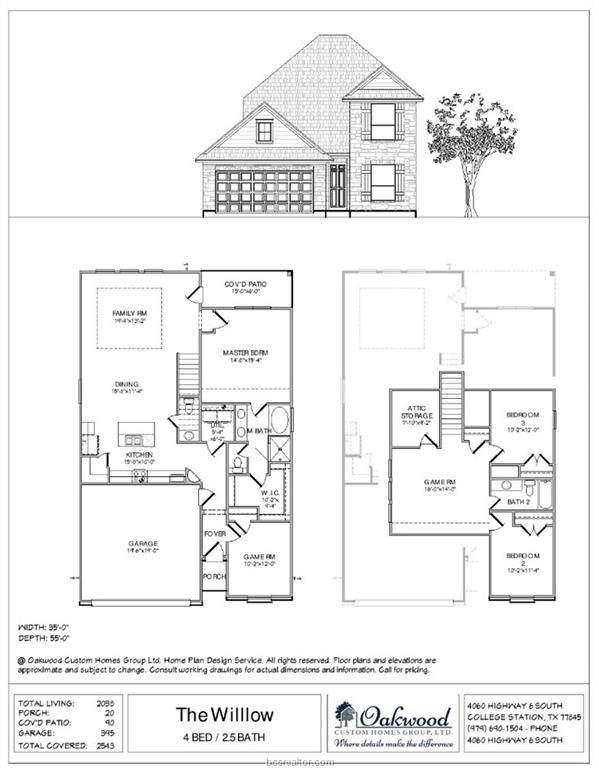2145 Mountain Wind Loop, Bryan, TX 77807 (MLS #20003019) :: BCS Dream Homes