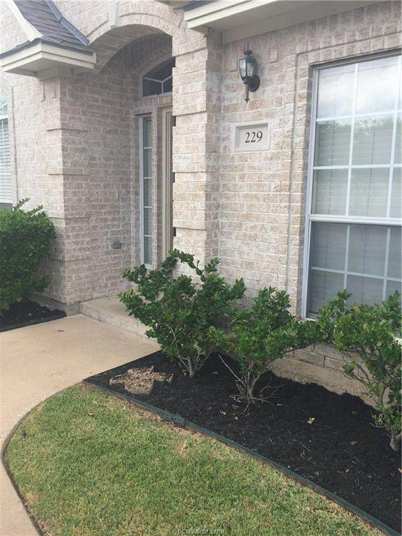 229 Navarro Drive, College Station, TX 77845 (MLS #20003847) :: The Shellenberger Team