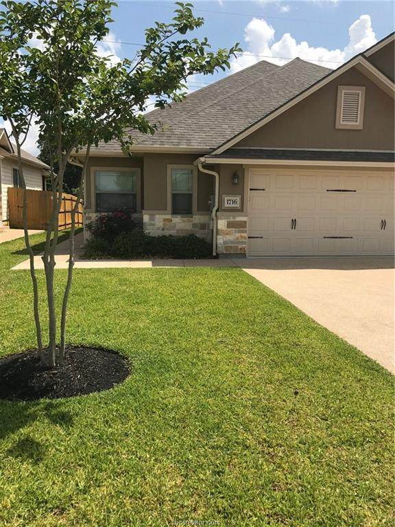 1716 Lonetree Drive, College Station, TX 77845 (MLS #20008975) :: RE/MAX 20/20
