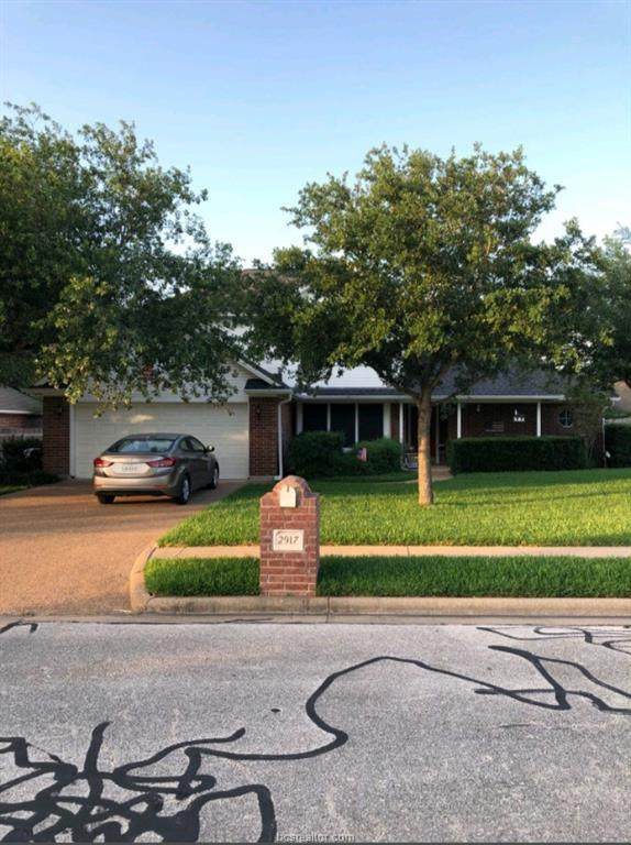 2917 Meadowbrook, College Station, TX 77845 (#20009186) :: First Texas Brokerage Company