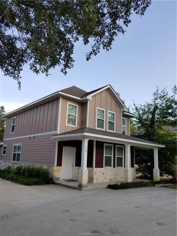 106 Fidelity Street, College Station, TX 77840 (MLS #20014923) :: Cherry Ruffino Team