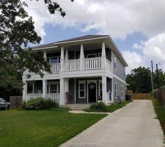 105 Midway, Bryan, TX 77801 (MLS #20017899) :: NextHome Realty Solutions BCS