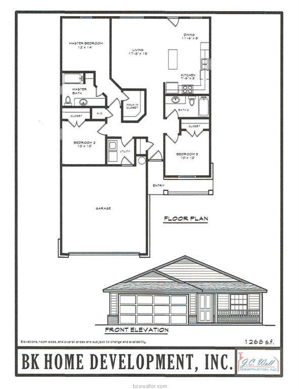 1800 Groesbeck Street, Bryan, TX 77803 (MLS #21000428) :: The Lester Group