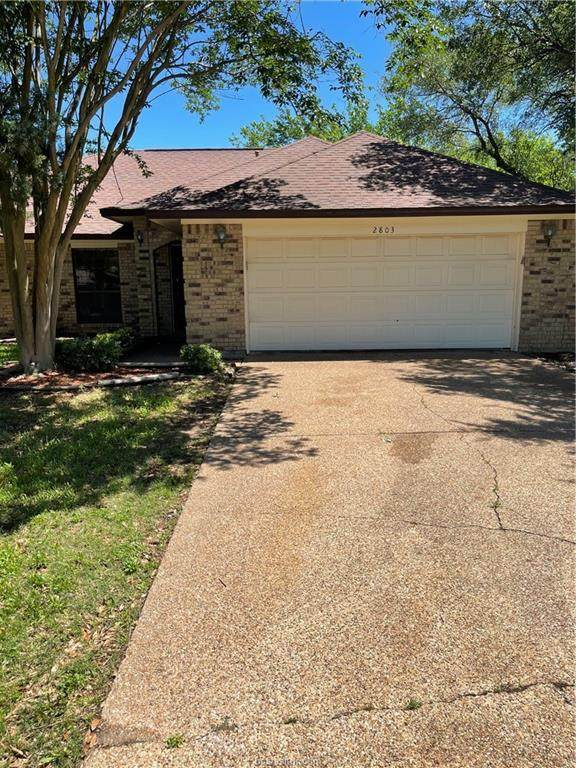 2803 Manzano Court, College Station, TX 77845 (#21006651) :: ORO Realty
