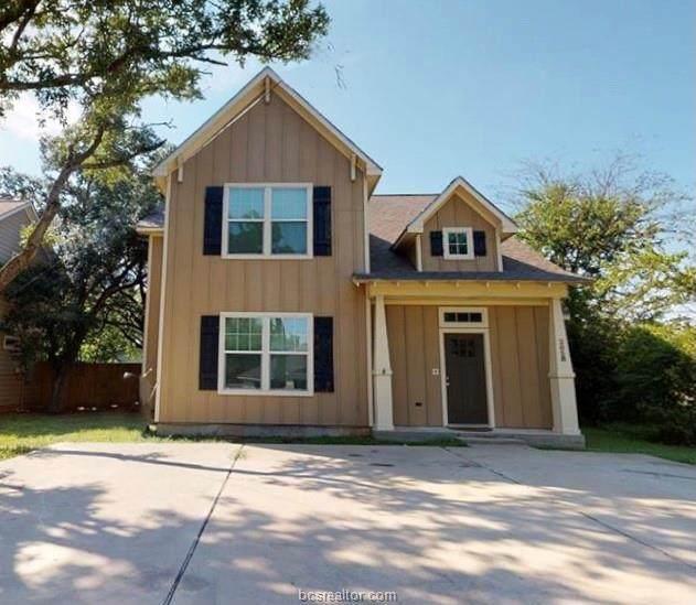 205 B Sterling Street, College Station, TX 77840 (MLS #21007168) :: Cherry Ruffino Team
