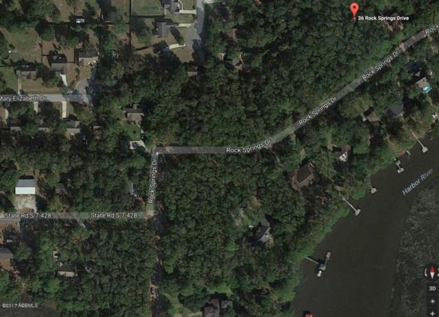 36 Rock Springs Drive, Beaufort, SC 29907 (MLS #153596) :: RE/MAX Island Realty