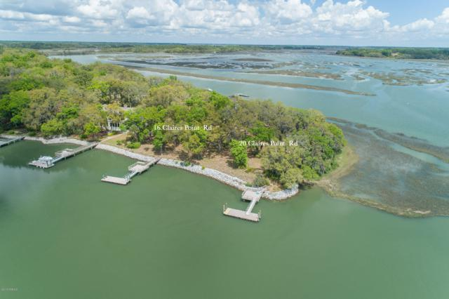 20 Claires Point Road, Beaufort, SC 29907 (MLS #161699) :: RE/MAX Island Realty
