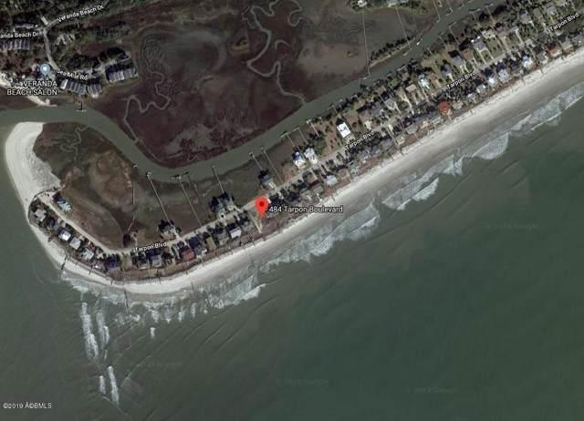 484 & 485 Tarpon Boulevard, Fripp Island, SC 29920 (MLS #164512) :: MAS Real Estate Advisors