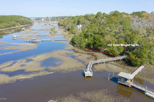 232 Green Winged Teal Drive S, Beaufort, SC 29907 (MLS #165608) :: Coastal Realty Group