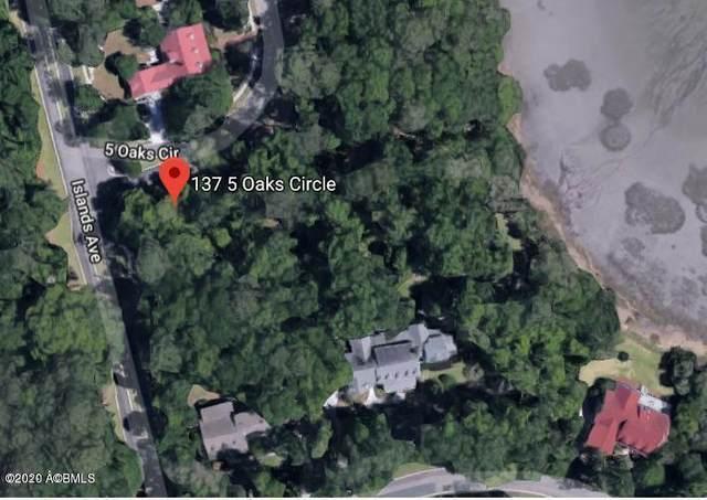 137 Five Oaks Circle, Beaufort, SC 29902 (MLS #166126) :: Coastal Realty Group