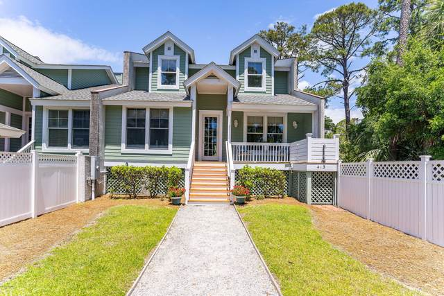 413 Wahoo Drive, Fripp Island, SC 29920 (MLS #166356) :: MAS Real Estate Advisors