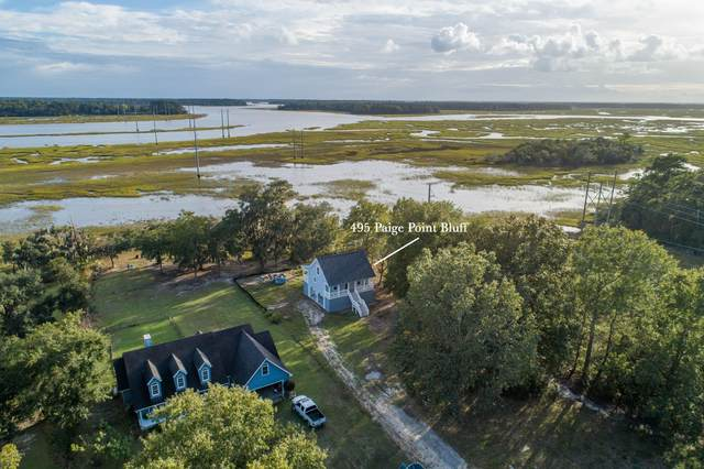 495 Paige Point Bluff, Seabrook, SC 29940 (MLS #168572) :: Coastal Realty Group