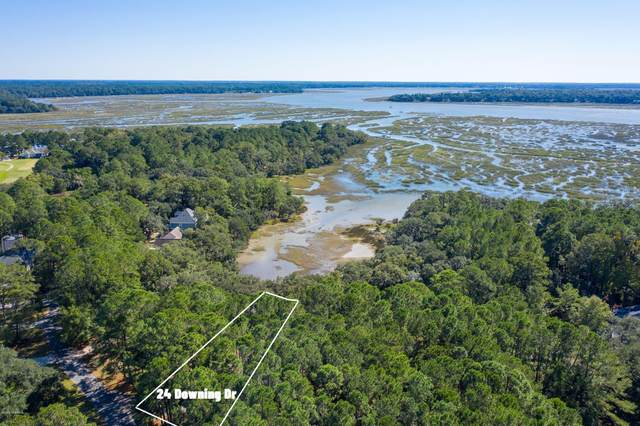 24 Downing Drive, Beaufort, SC 29907 (MLS #168656) :: Shae Chambers Helms | Keller Williams Realty