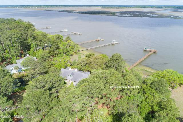 24 Sparrow Nest Point, Dataw Island, SC 29920 (MLS #169191) :: Shae Chambers Helms | Keller Williams Realty