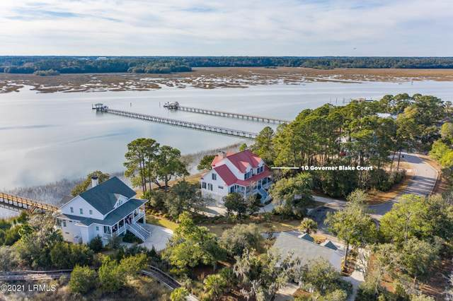 10 Governor Blake Court, Beaufort, SC 29907 (MLS #169343) :: Shae Chambers Helms | Keller Williams Realty