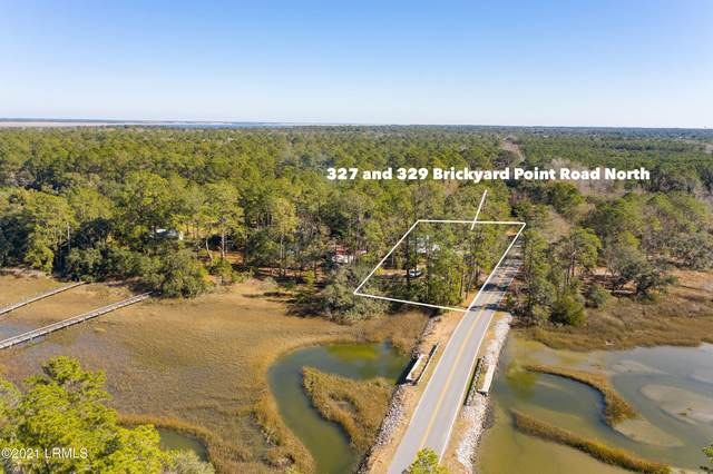 329 Brickyard Point Road N, Beaufort, SC 29907 (MLS #169436) :: Shae Chambers Helms | Keller Williams Realty