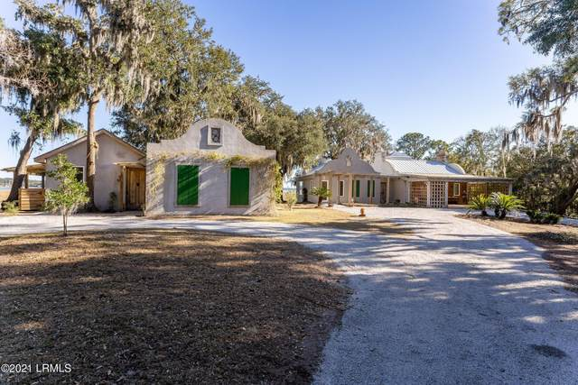 2201 Pigeon Point Road, Beaufort, SC 29902 (MLS #169538) :: RE/MAX Island Realty
