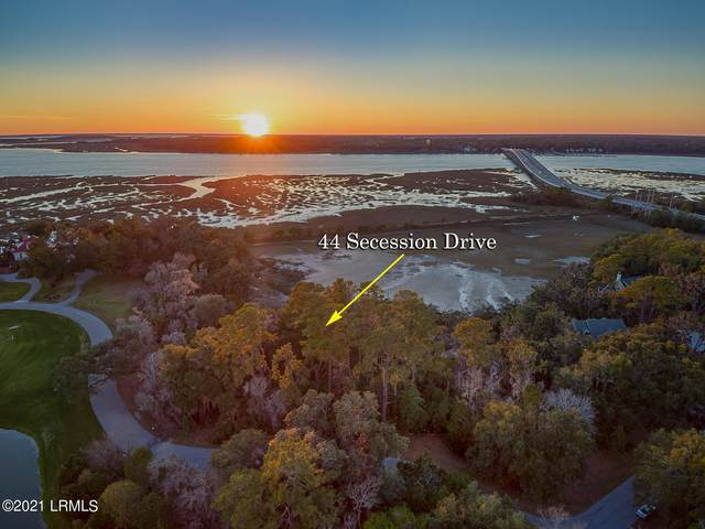 44 Secession Drive, Beaufort, SC 29907 (MLS #169630) :: Shae Chambers Helms | Keller Williams Realty