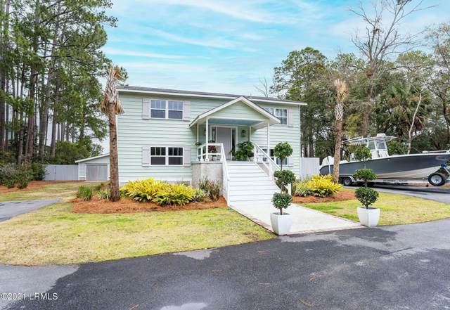 55 Coosaw River Drive, Beaufort, SC 29907 (MLS #169719) :: RE/MAX Island Realty