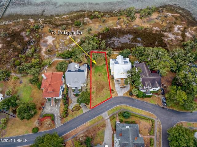 73 Petigru Drive, Beaufort, SC 29902 (MLS #169881) :: RE/MAX Island Realty