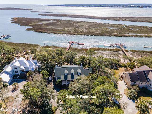 2 S Point Trail, Beaufort, SC 29907 (MLS #169898) :: Coastal Realty Group