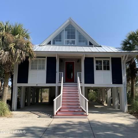 8 W Marsh Drive, Harbor Island, SC 29920 (MLS #170102) :: Shae Chambers Helms   Keller Williams Realty