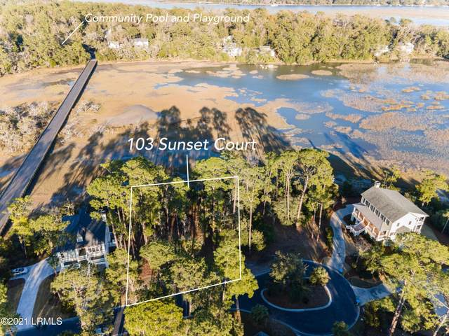 103 Sunset Court, Beaufort, SC 29902 (MLS #170193) :: Shae Chambers Helms | Keller Williams Realty