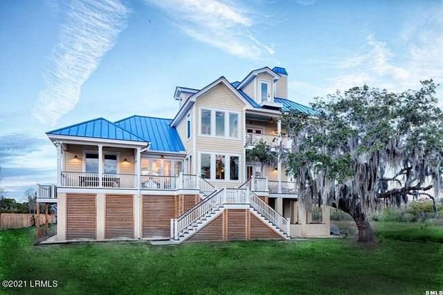21 Sweet Grass Drive, Beaufort, SC 29907 (MLS #171552) :: Shae Chambers Helms | Keller Williams Realty