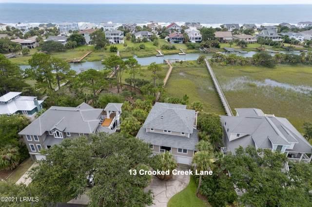 13 Crooked Creek Lane, Fripp Island, SC 29920 (MLS #172363) :: RE/MAX Island Realty