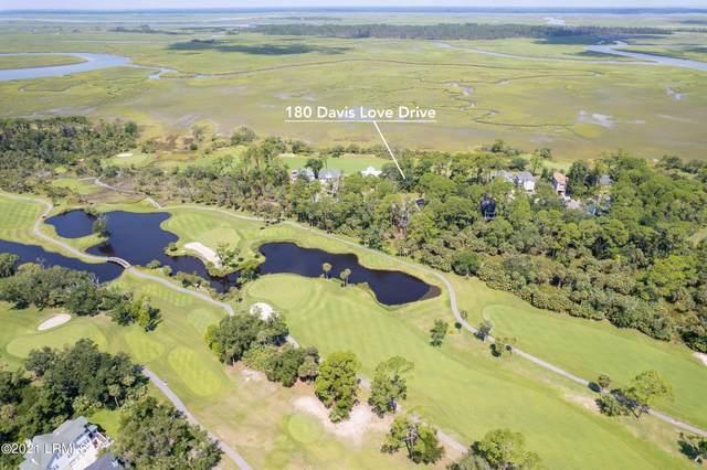 180 Davis Love Drive, Fripp Island, SC 29920 (MLS #172605) :: RE/MAX Island Realty