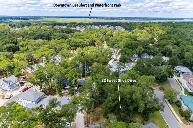 22 Sweet Olive Drive, Beaufort, SC 29907 (MLS #172797) :: Coastal Realty Group