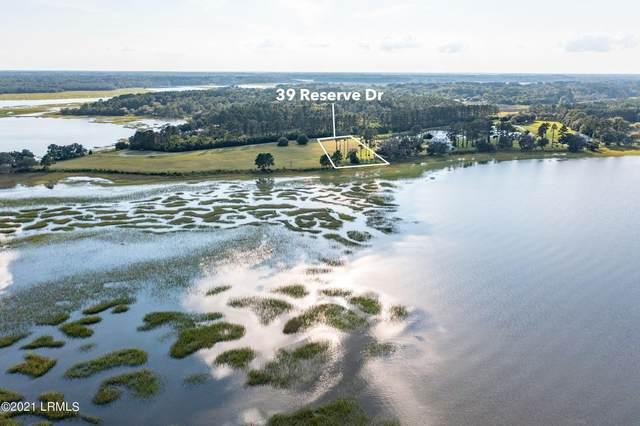 39 Reserve Drive, Seabrook, SC 29940 (MLS #172950) :: Coastal Realty Group