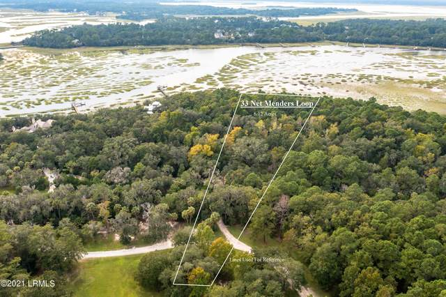 33 Net Menders Loop, St. Helena Island, SC 29920 (MLS #173171) :: Coastal Realty Group