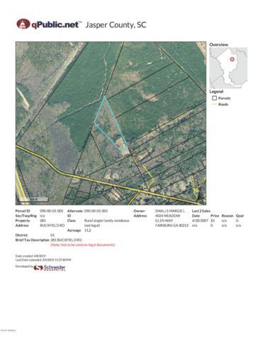 281 Buckfield Road, Yemassee, SC 29945 (MLS #161432) :: RE/MAX Coastal Realty