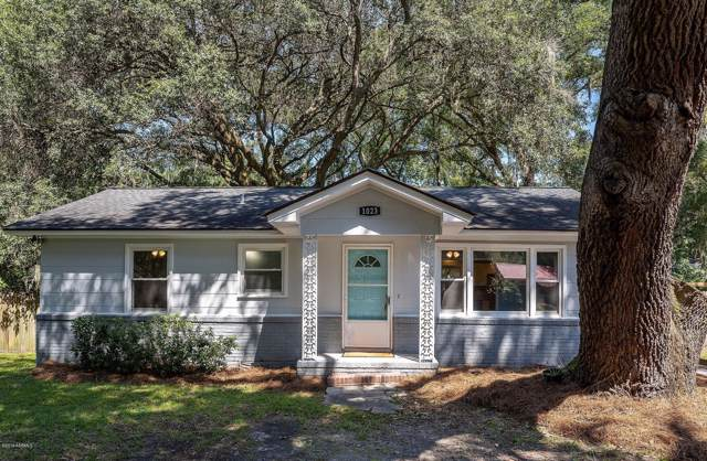 1023 Hodge Drive, Beaufort, SC 29906 (MLS #163602) :: RE/MAX Island Realty
