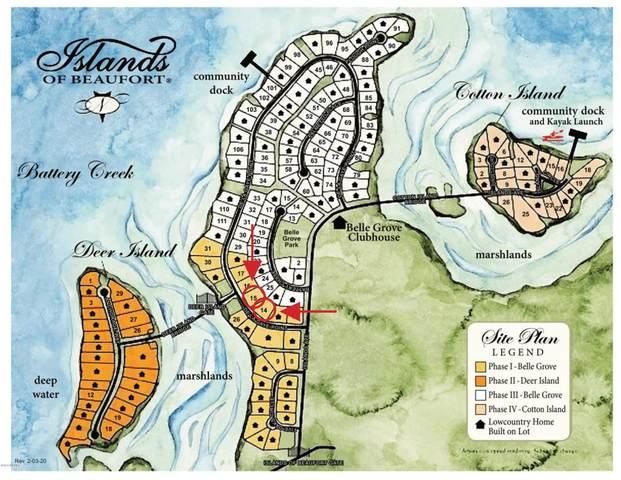 214 De La Gaye Point, Beaufort, SC 29902 (MLS #166132) :: Coastal Realty Group