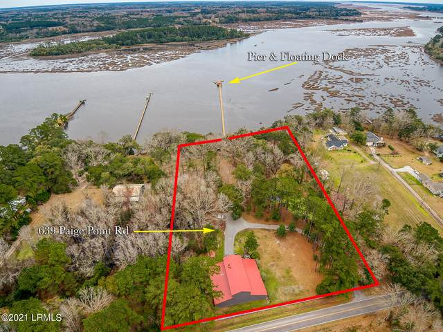639 Paige Point Road, Seabrook, SC 29940 (MLS #168252) :: Shae Chambers Helms | Keller Williams Realty